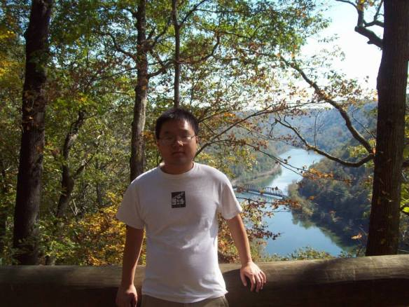 Eric Tong at Hawk's Nest